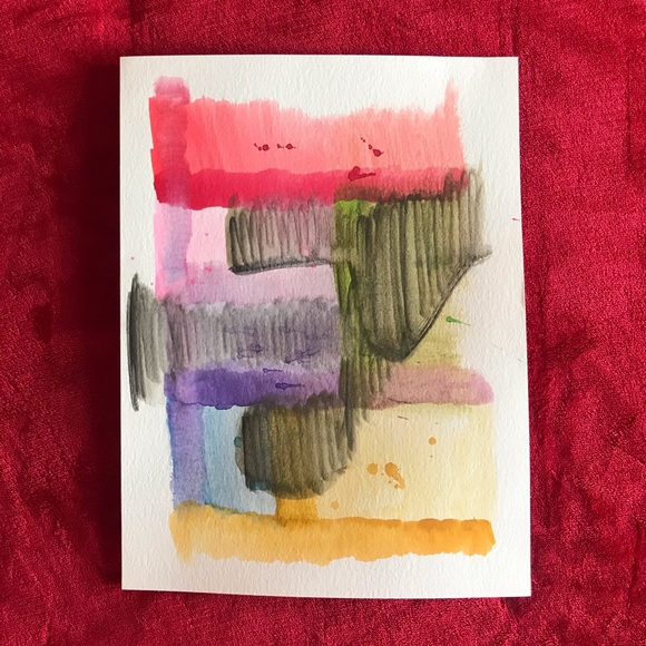 Abstract Artwork Colorful Decor Painting